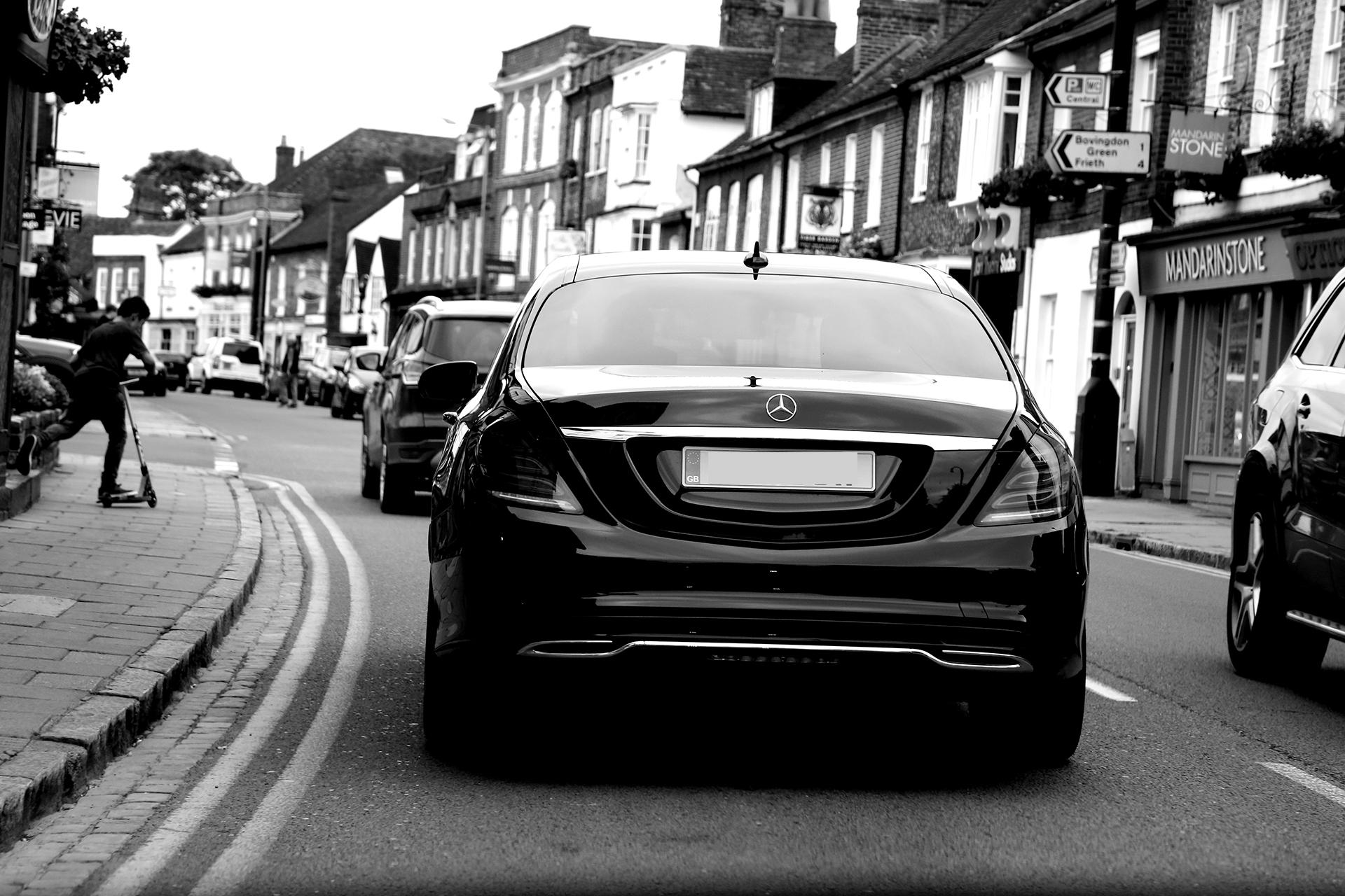 Oxford Chauffeurs car